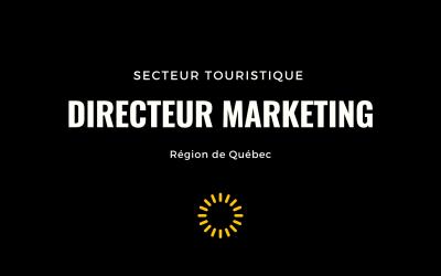 Nous recrutons un(e) Directeur(trice) Marketing